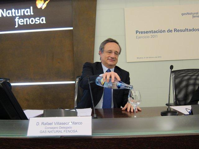 El Consejero Delegado De Gas Natural, Rafael Villaseca