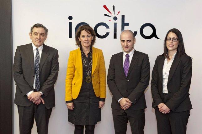La Presidenta Del Gobierno De Navarra Ha Visitado Incita, En Artica.