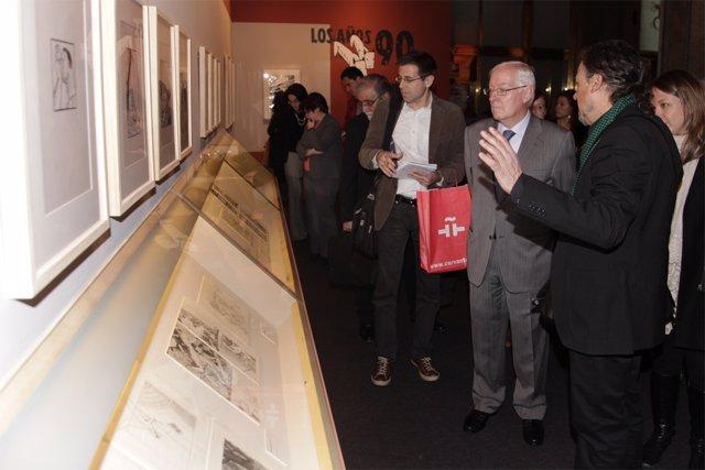 Exposicion Sobre El Comic En El Cervantes