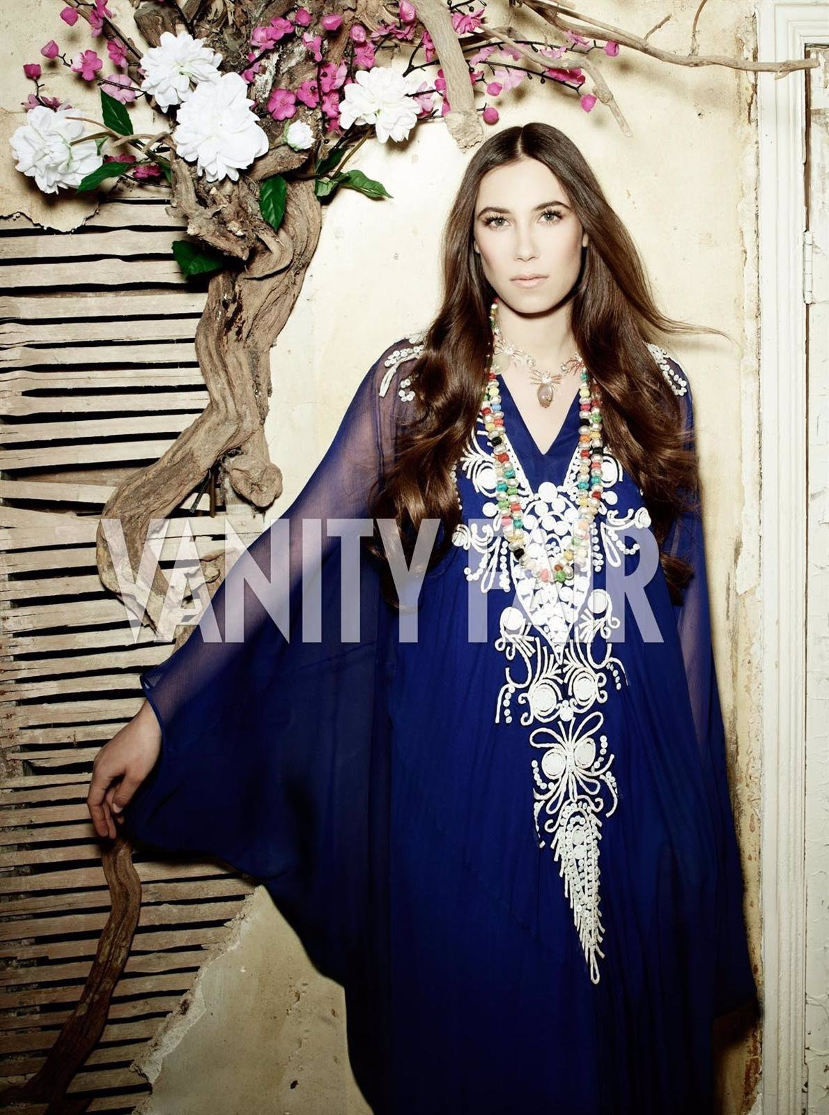 Tatiana Santo Domingo Posa Para 'Vanity Fair'