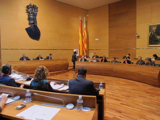 Pleno De La Diputación De Valencia, Sesión Ordinaria De Febrero