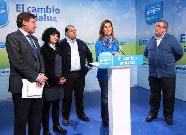 Alicia Martínez Y Rafael Carmona, Tras Reunirse Con Entidades De Acción Social