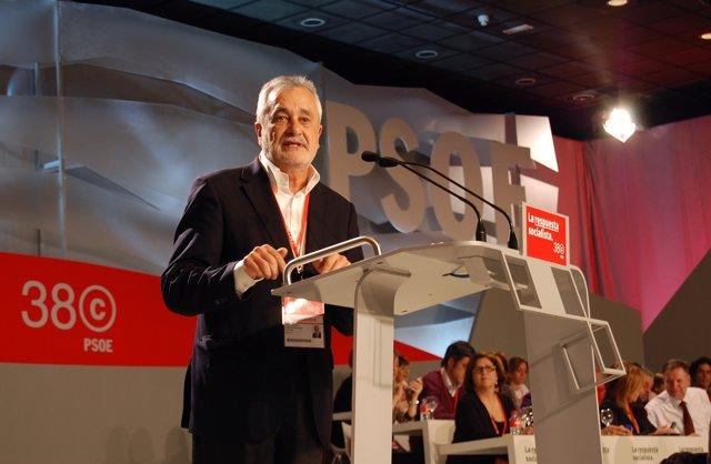 Griñán Interviene En El Congreso Federal Del PSOE