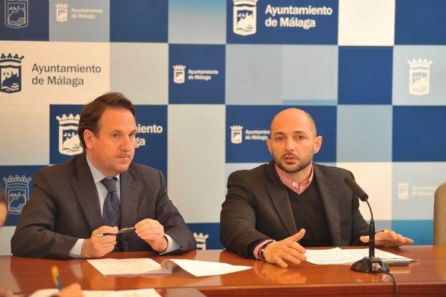 El Concejal De Movilidad Del Ayuntamiento De Málaga, Raúl López