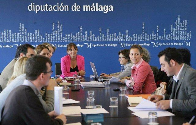 Reunión Del Jurado De 'Mujeres, Sin Diferencias' De La Diputación