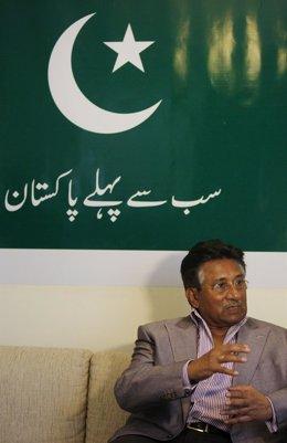 El Ex Presidente De Pakistán En El Exilio Pervez Musharraf