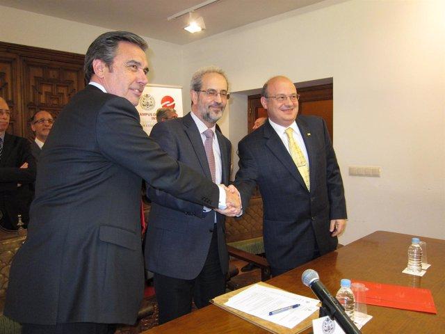 Jesús Rodríguez Almarza, Daniel Hernández Ruipérez Y Zaki Akel Sobrinho