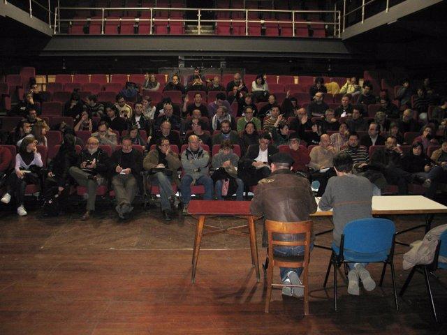 """Representantes De Colectivos En La Reunión Sobre La """"Represión"""" De Las Protestas"""