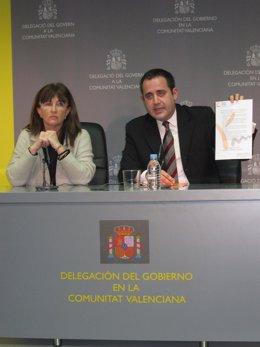 Cristina Moreno Y Jorge Alarte Comparecen Tras Reunirse Con Sánchez De León.