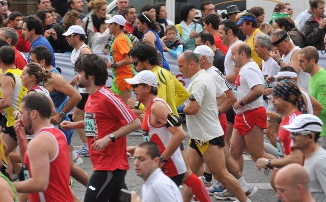 Carrera Maratón en Madrid