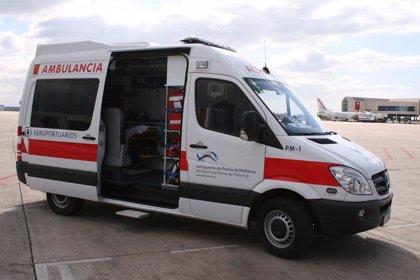 El Aeropuerto de Palma adquiere una nueva ambulancia con el equipamiento para atender patologías urgentes