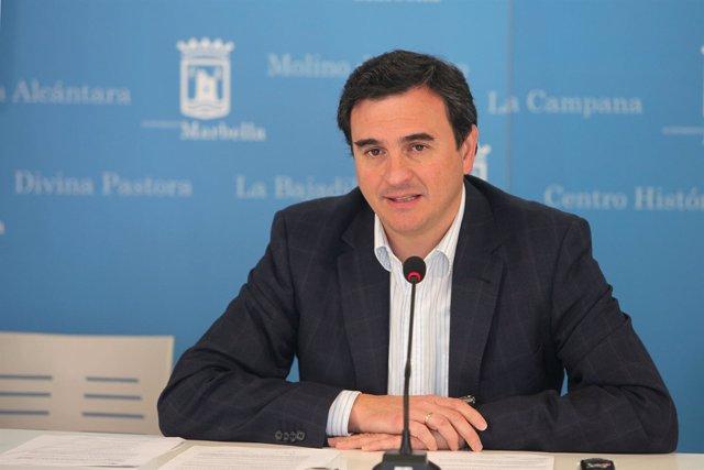 El Portavoz Del Equipo De Gobierno, Félix Romero