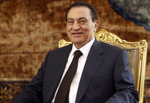 Ex presidente egipcio, Hosni Mubarak