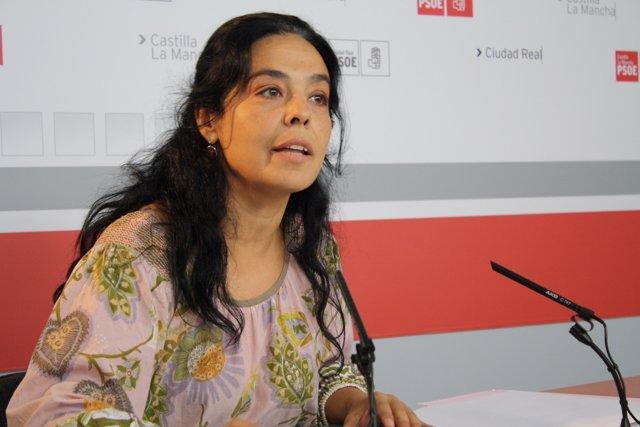 Pilar Zamora En Rueda De Prensa