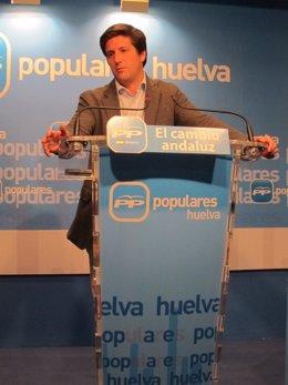 El Portavoz Del PP Provincial De Huelva, Guillermo García Longoria.
