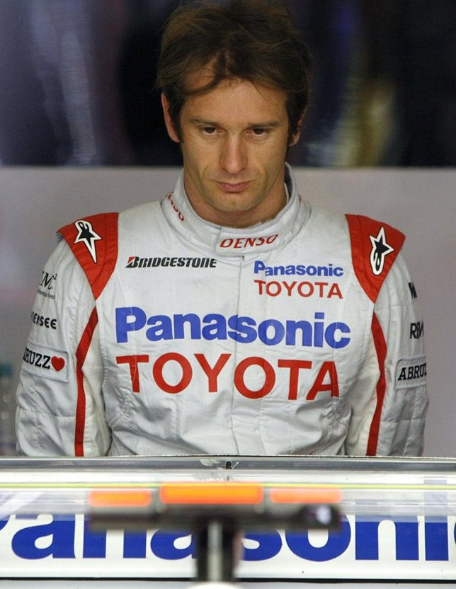 El piloto de Fórmula 1 Jarno Trulli
