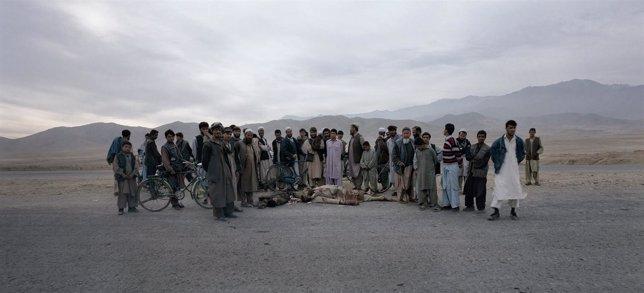 Fotografía 'Kabul Road', Presente En La Exposición La Morada Del Hombre