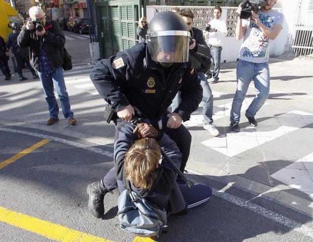 Protestas Estudiantiles En Valencia