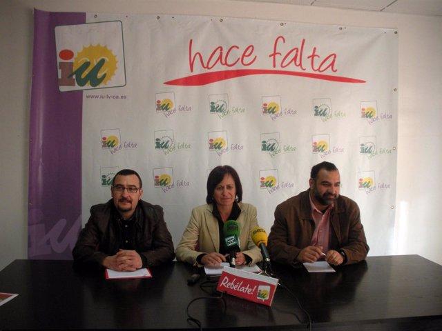 En El Centro, La Coordinadora De IULV-CA En Almería, Rosalía Martín
