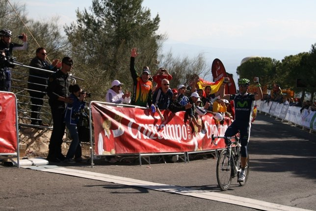 Valverde Se Impuso En La Segunda Etapa De La Vuelta A Andalucía