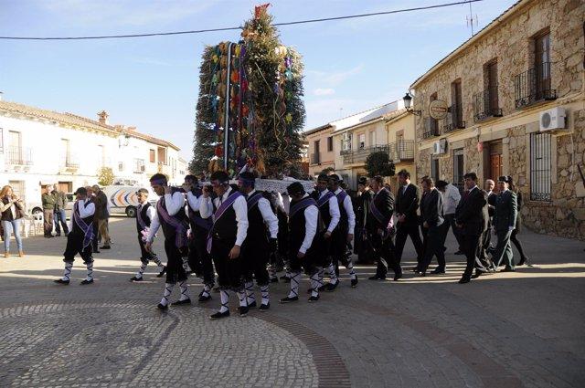 Carnaval De Ánimas De Villar Del Pedroso En Cáceres.