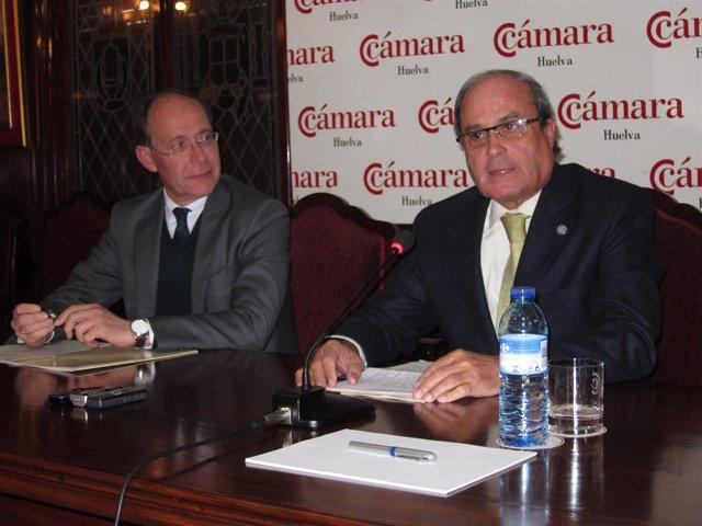 El Presidente De La Cámara De Comercio De Huelva, Antonio Ponce.