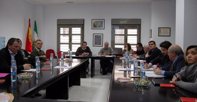 Reunión Del Grupo Hispaño.Francés-Italiano De La Fresa Reunido En Huelva