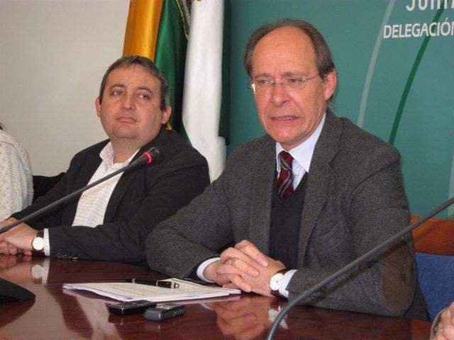 El Consejero De Medio Ambiente, José Juan Díaz Trillo.
