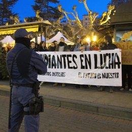 Manifestación 15M, Estrategia Global Y Asociación Estudiantes Contra Cargas