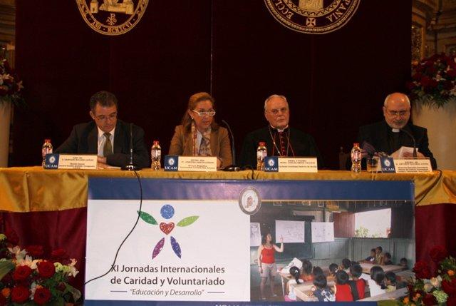 Inauguración De Las XI Jornadas Internacionales De Caridad Y Voluntariado
