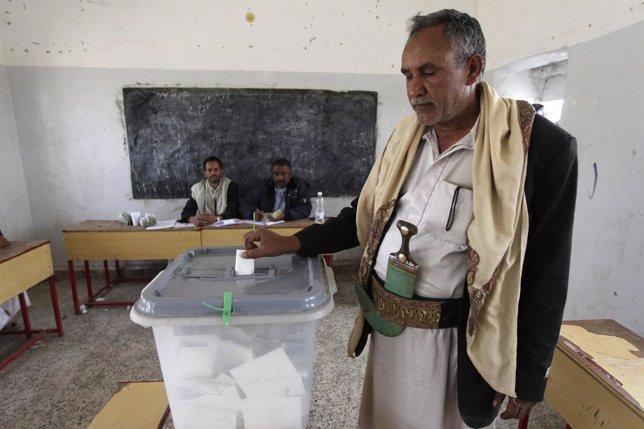 Elecciones Presidenciales En Yemen
