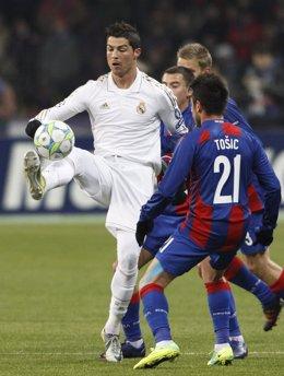 Cristiano Ronaldo Marcó El Único Gol Blanco Del Partido