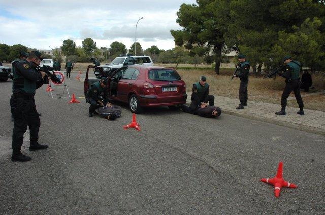 Simulacro Grupo De Reserva De Seguridad De La Guardia Civil