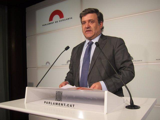 El Diputado Alfons López Tena
