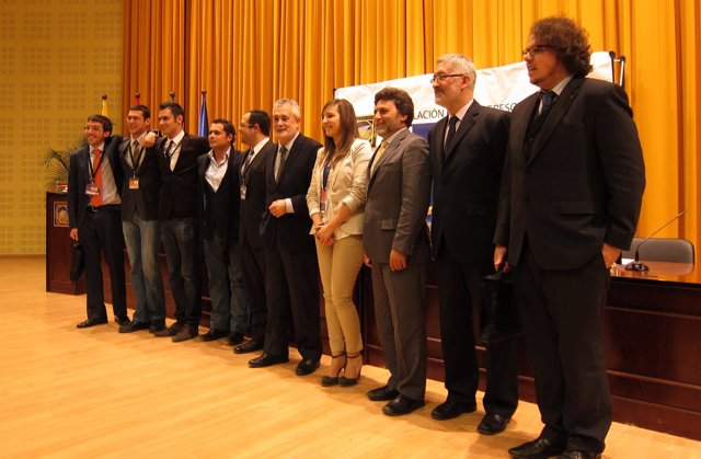 Griñán Tras Participar En SICE 2012 En La Universidad Pablo De Olavide