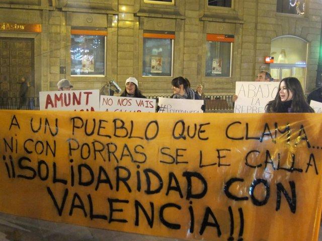 Manifestantes Asturianos