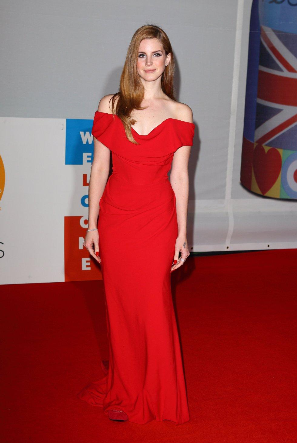Lana del Rey en los BRIT Awards