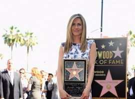 Jennifer Aniston ya tiene su estrella en el Paseo de la Fama de Hollywood