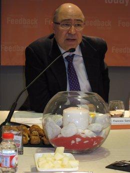 El Secretario De Estrategia Y Coordinación De La Conselleria De Salud, F.Sancho