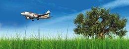 Avion De Iberia Comprobando Calidad Atmósfera