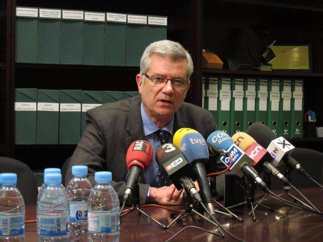 El Director Gerente Del Instituto Catalán De Salud (ICS), Joaquim Casanovas