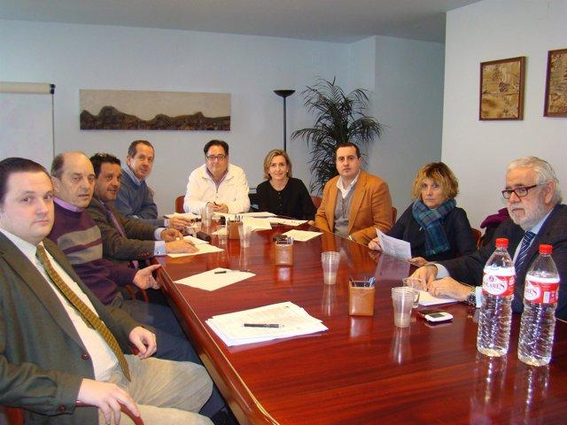 Reunión De La Junta Directiva De Fediscom