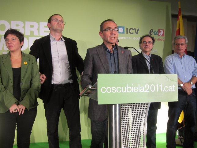 L.Ortiz, J.Herrera, J.Coscubiela, J.Miralles, J.Saura (ICV-Euia)