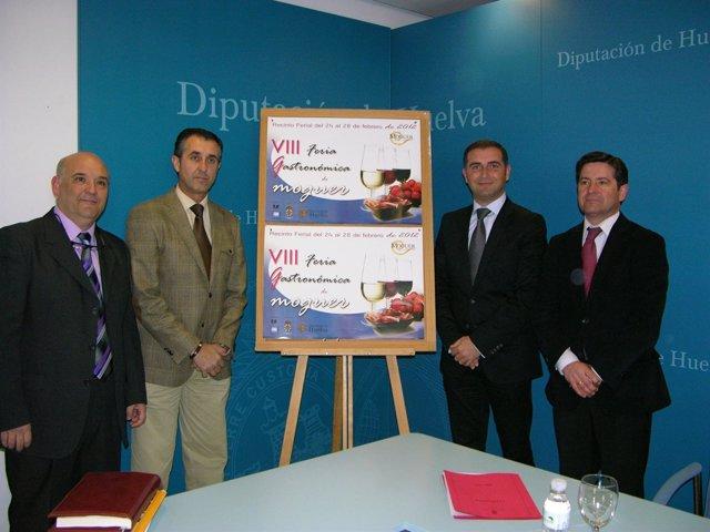 El Alcalde De Moguer, Gustavo Cuéllar, Presenta La VIII Feria Gastronómica.