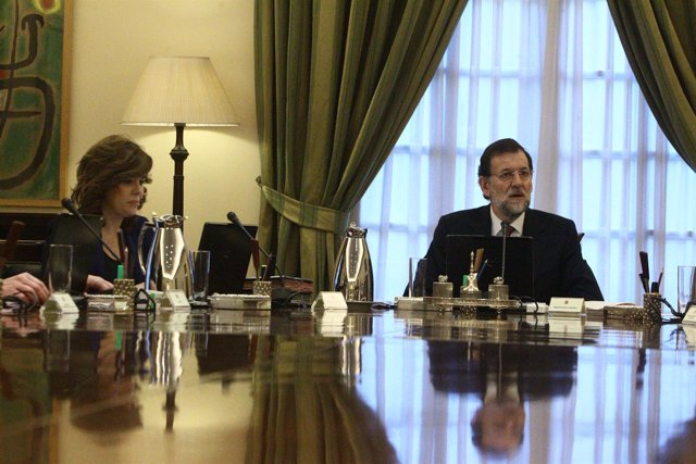 Consejo De Ministros, Mariano Rajoy Y Soraya Sáenz De Santamaría