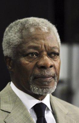 Ex Secretario General De La ONU Kofi Annan