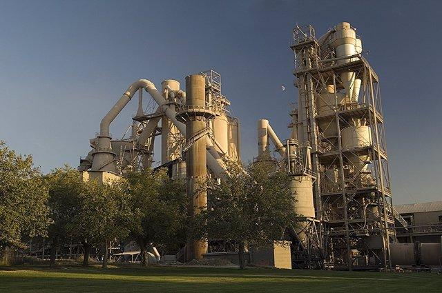 Fábrica CEMEX En Castillejo, Toledo
