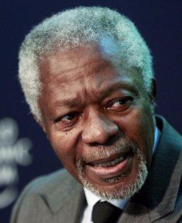 Enviado Especial De Naciones Unidas Y La Liga Árabe Para Siria, Kofi Annan