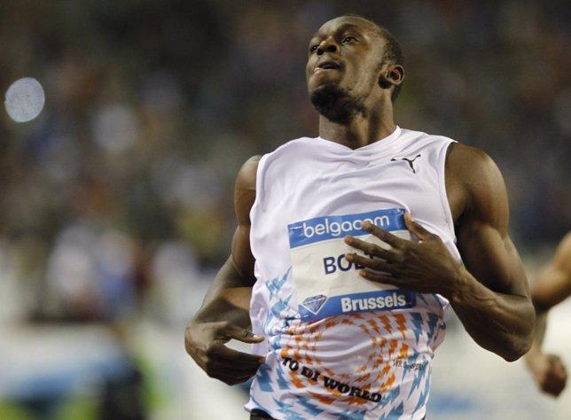 Usain Bolt En Bruselas