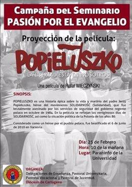 Cartel De La Película 'Popieluszko'